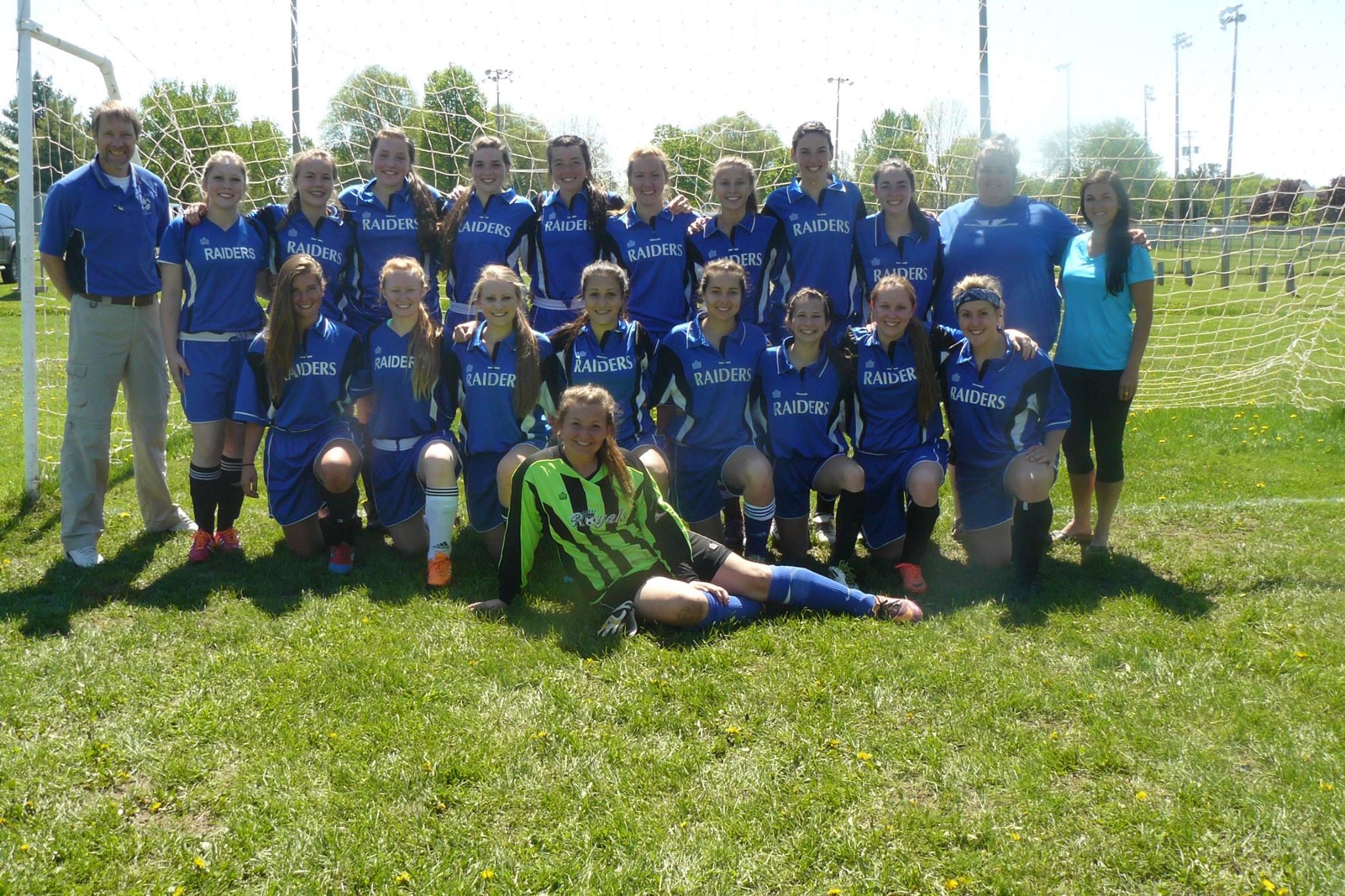 Sr. Girls Soccer Team