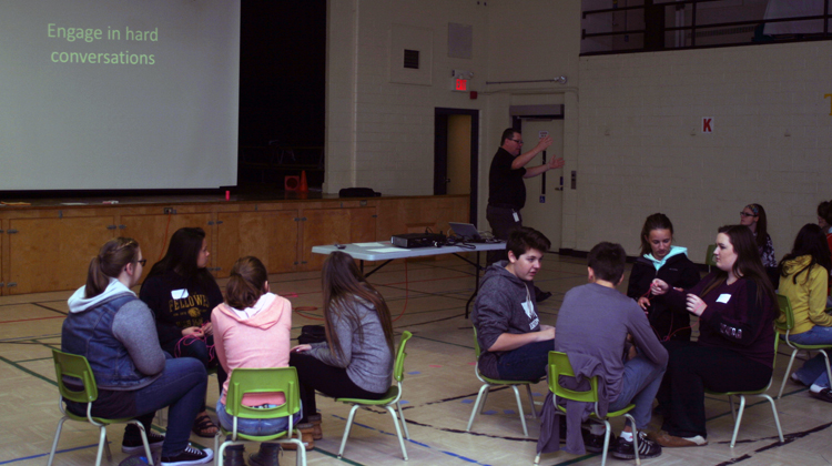 Group dynamics and leadership workshop