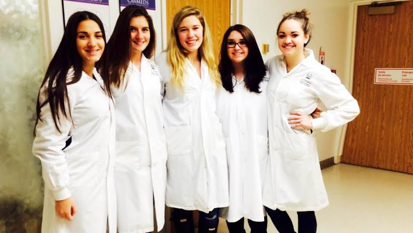RCI students attend anatomy lab
