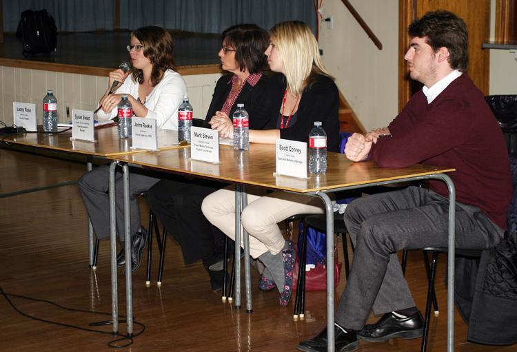 SHSM Conference panel
