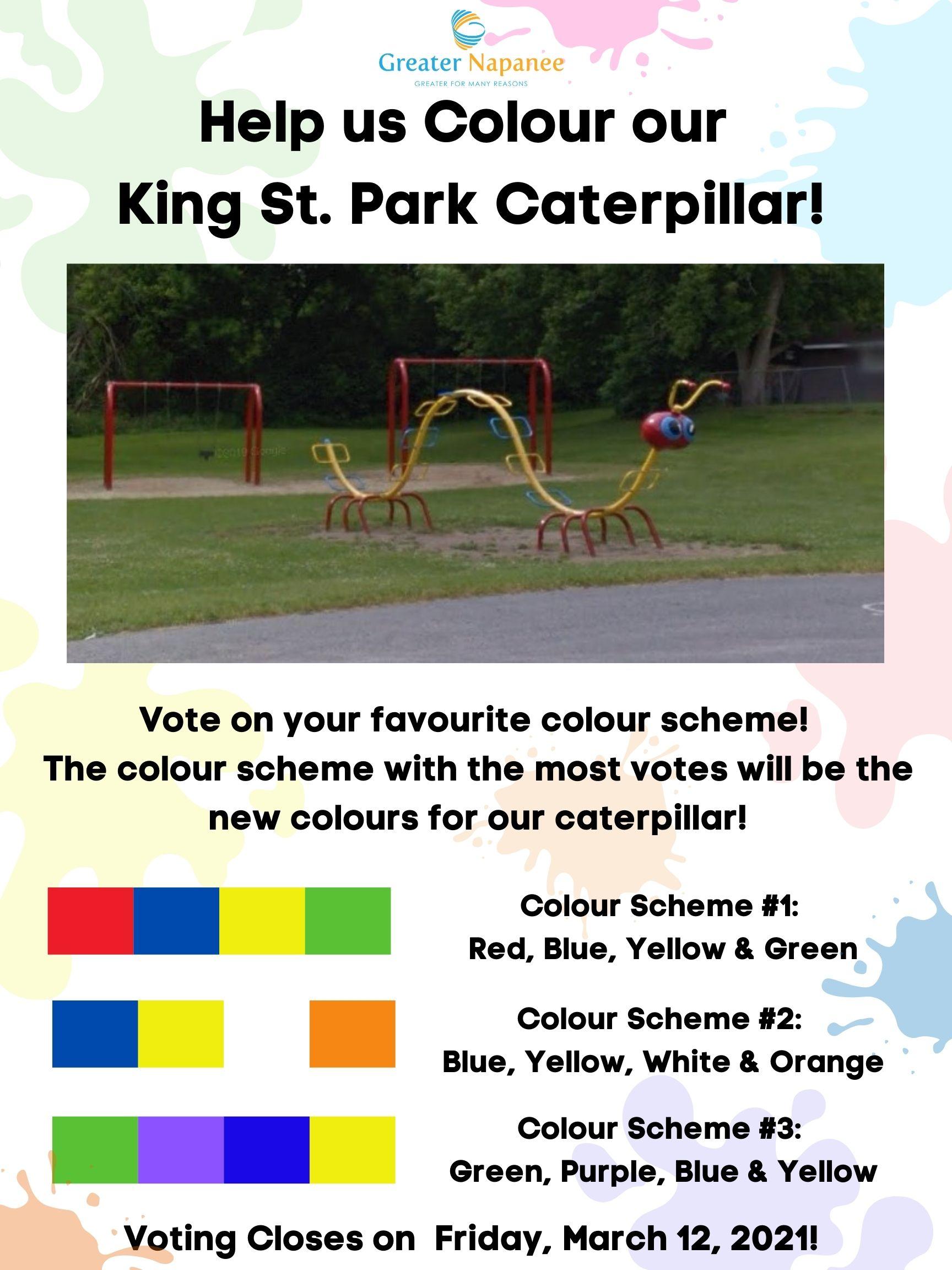 Caterpillar Colour Scheme