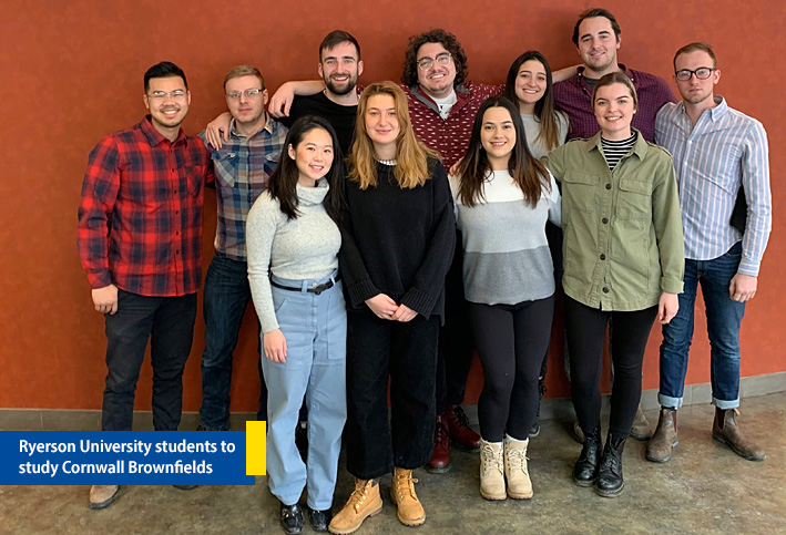 Ryerson-University-Cornwall-Study-Team