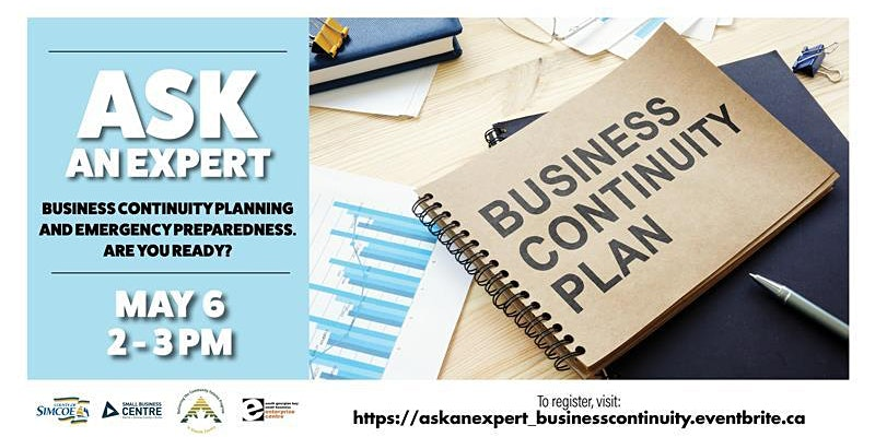 Ask an Expert Emergency Preparedness and Business Continuity