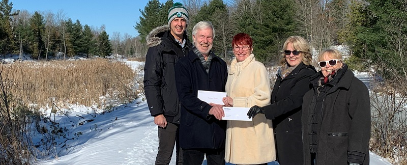 County of Frontenac receives grant from  Frank Cowan Company Home Town Program