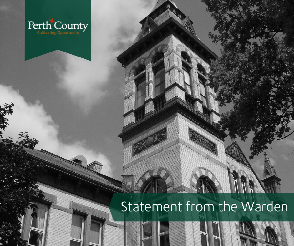 Warden Statement