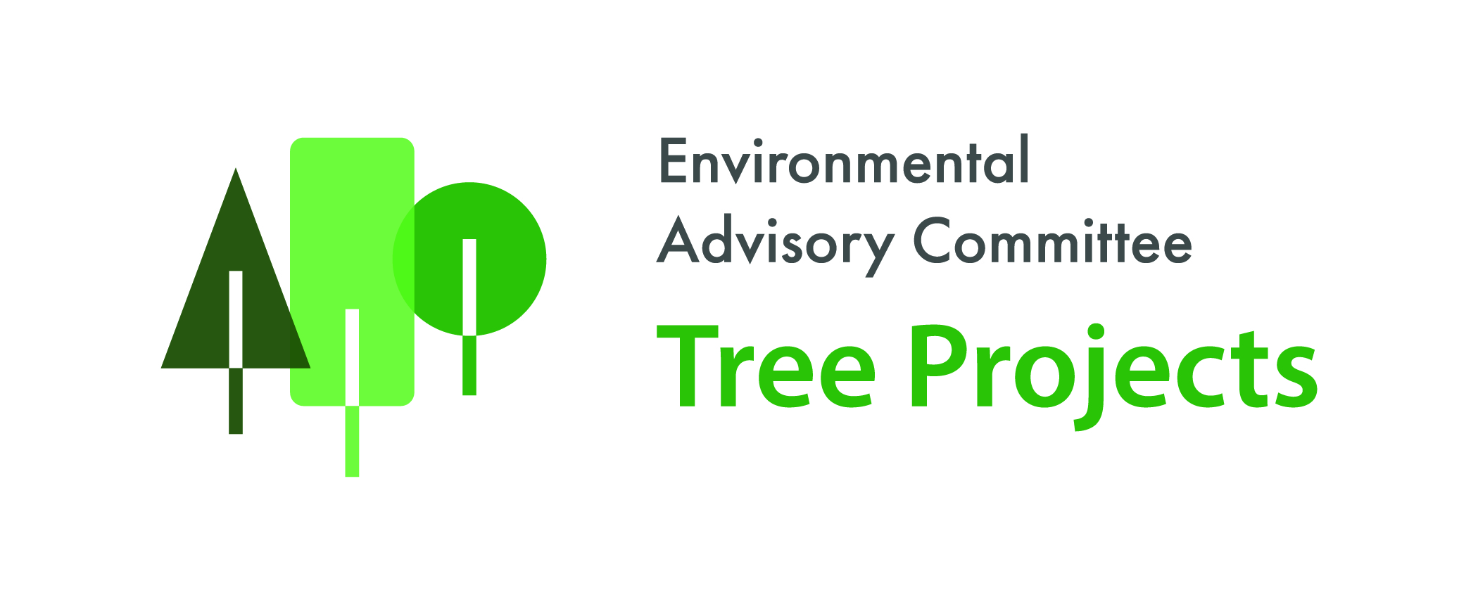 Environmental Advisory Committee Tree Projects Logo - Horizontal