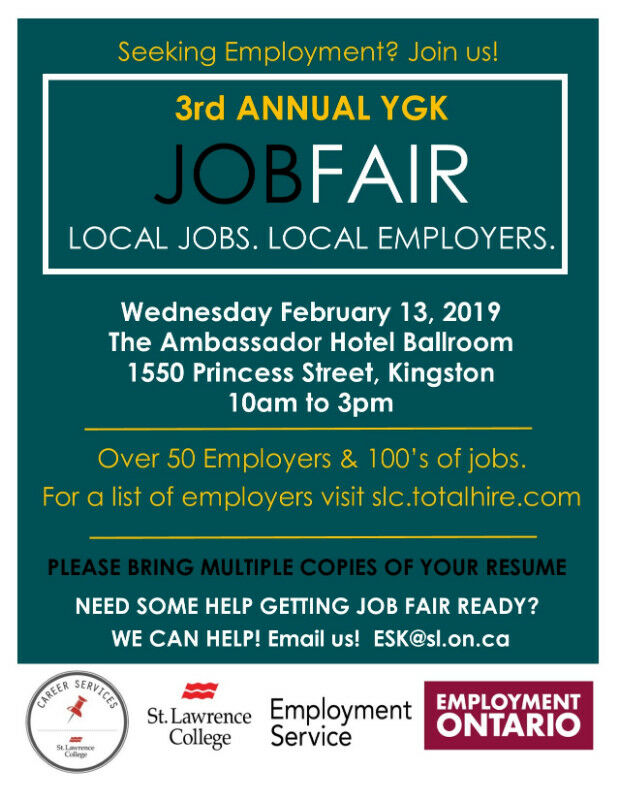 YGK Job Fair Wednesday 13 2019