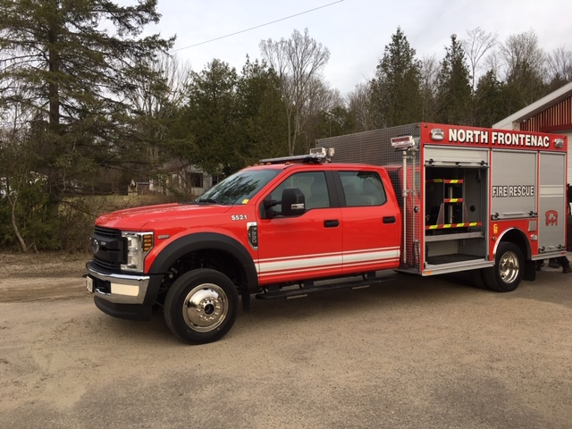 new fire truck for Snow Road Station – Squad 521