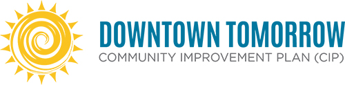 Downtown Tomorrow Community Improvement Plan logo
