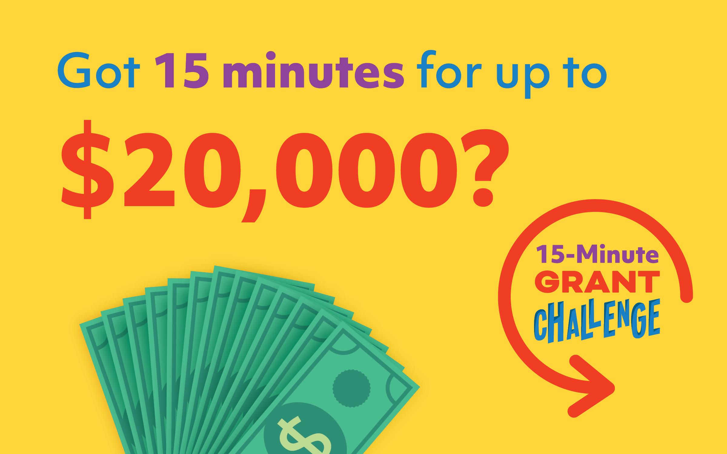 15 Min Grant Challenge Media Image - Horizontal