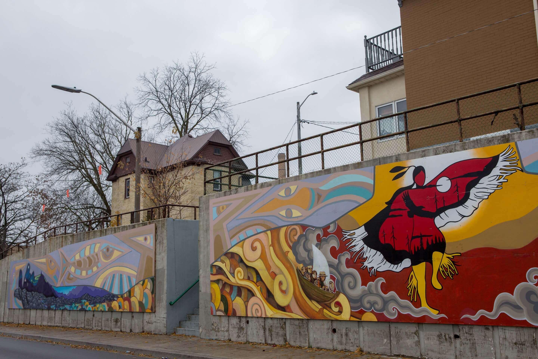 Charles Street Mural