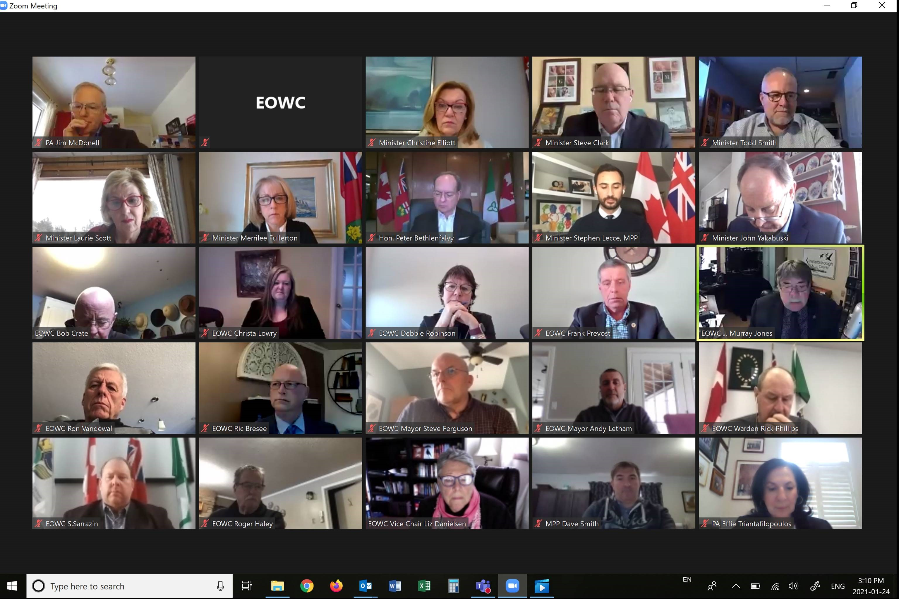 EOWC Multi-Ministers Delegation, 2021 ROMA Conference