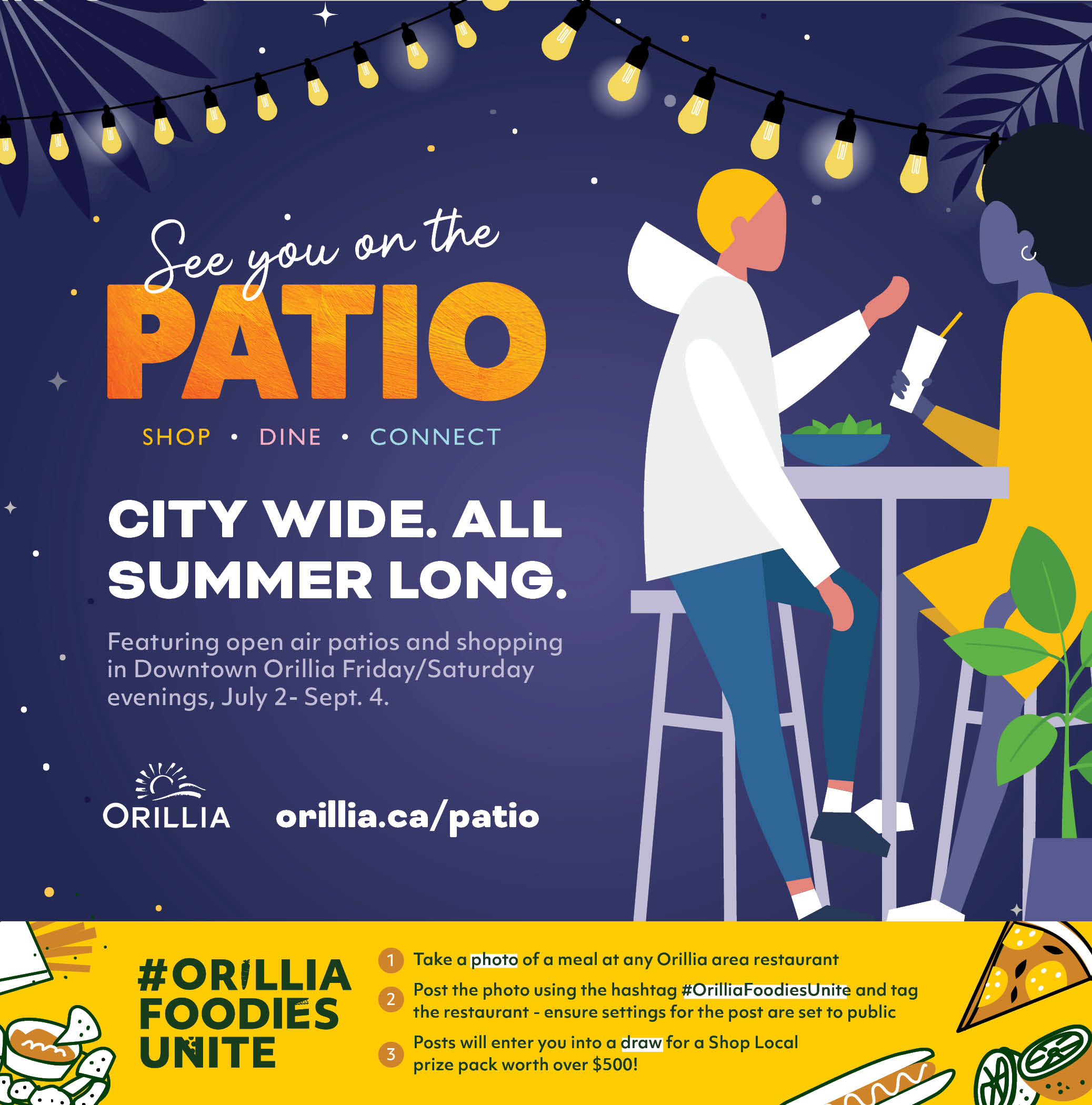 See You on the Patio Poster