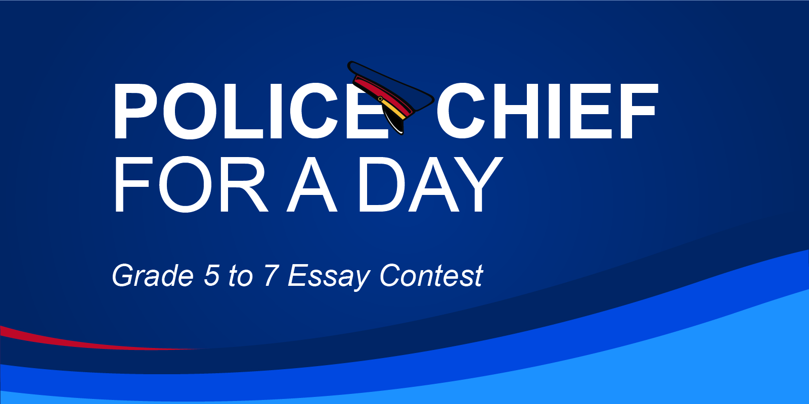 PoliceChief for a Day Social Flag