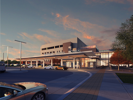 BGH new main entrance, coming in 2020