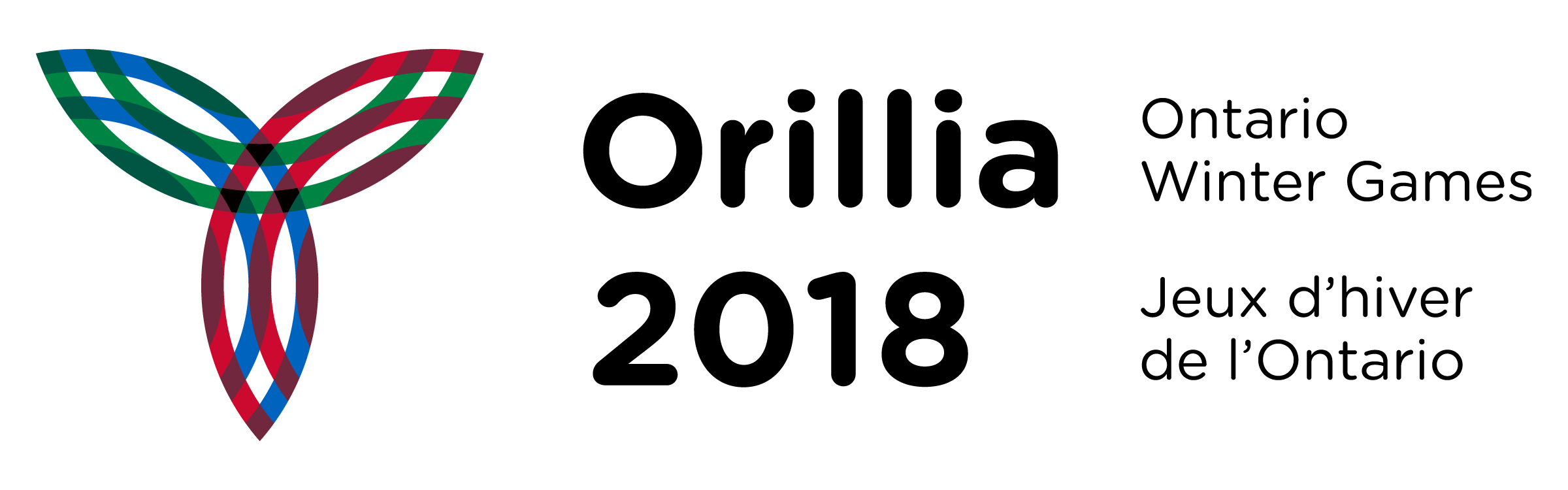 Orillia 2018 Ontario Winter Games Logo