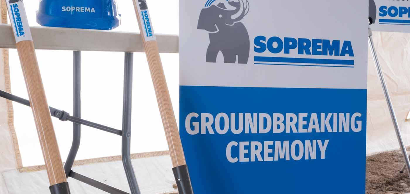Soprema Groundbreaking