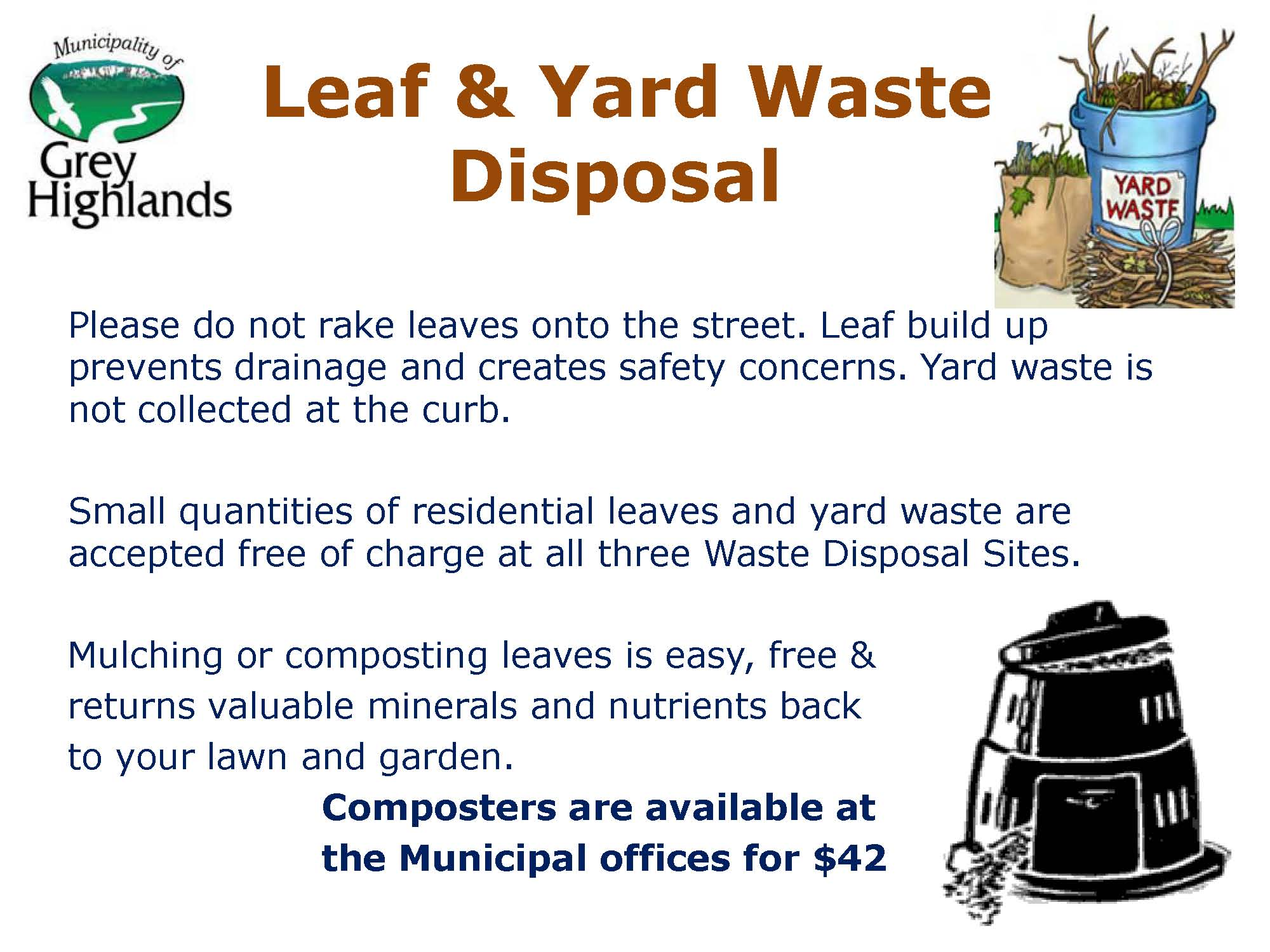 Leaf and Yard Waste Recycling