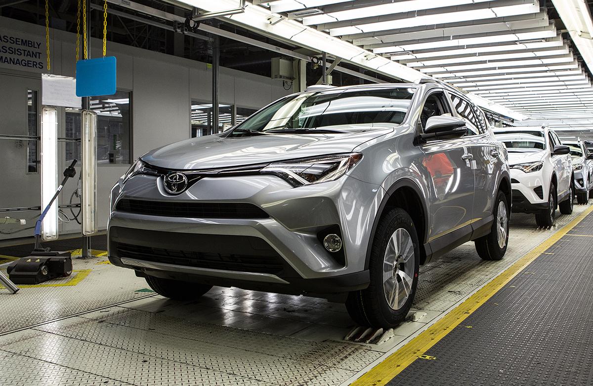 Toyota Motor Manufacturing Canada RAV4 plant