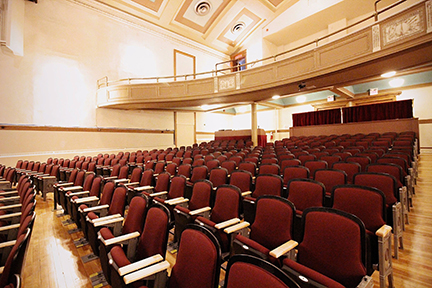 New chairs and flooring have been installed in the Gordon Lightfoot Auditorium at the Orillia Opera House as part of a multi-phase $3 million renovation.