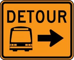Transit Route Detour