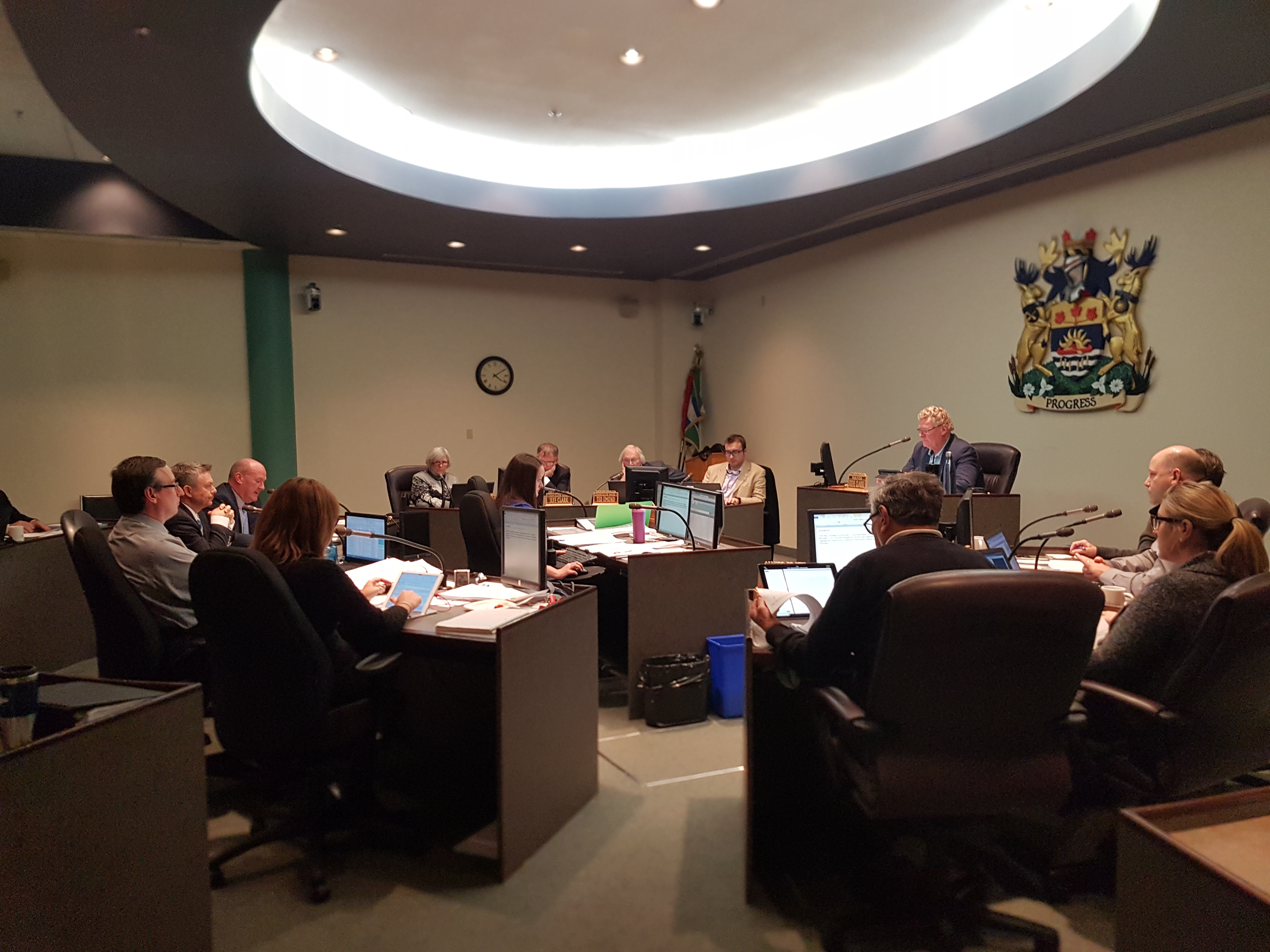 Budget Committee met on Nov. 14, 2017, for the initial 2018 budget presented by City staff.