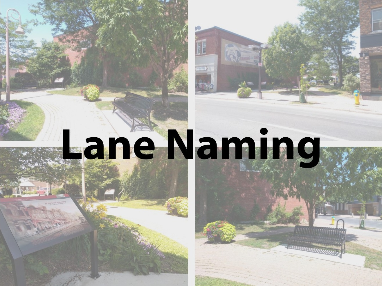 lane naming
