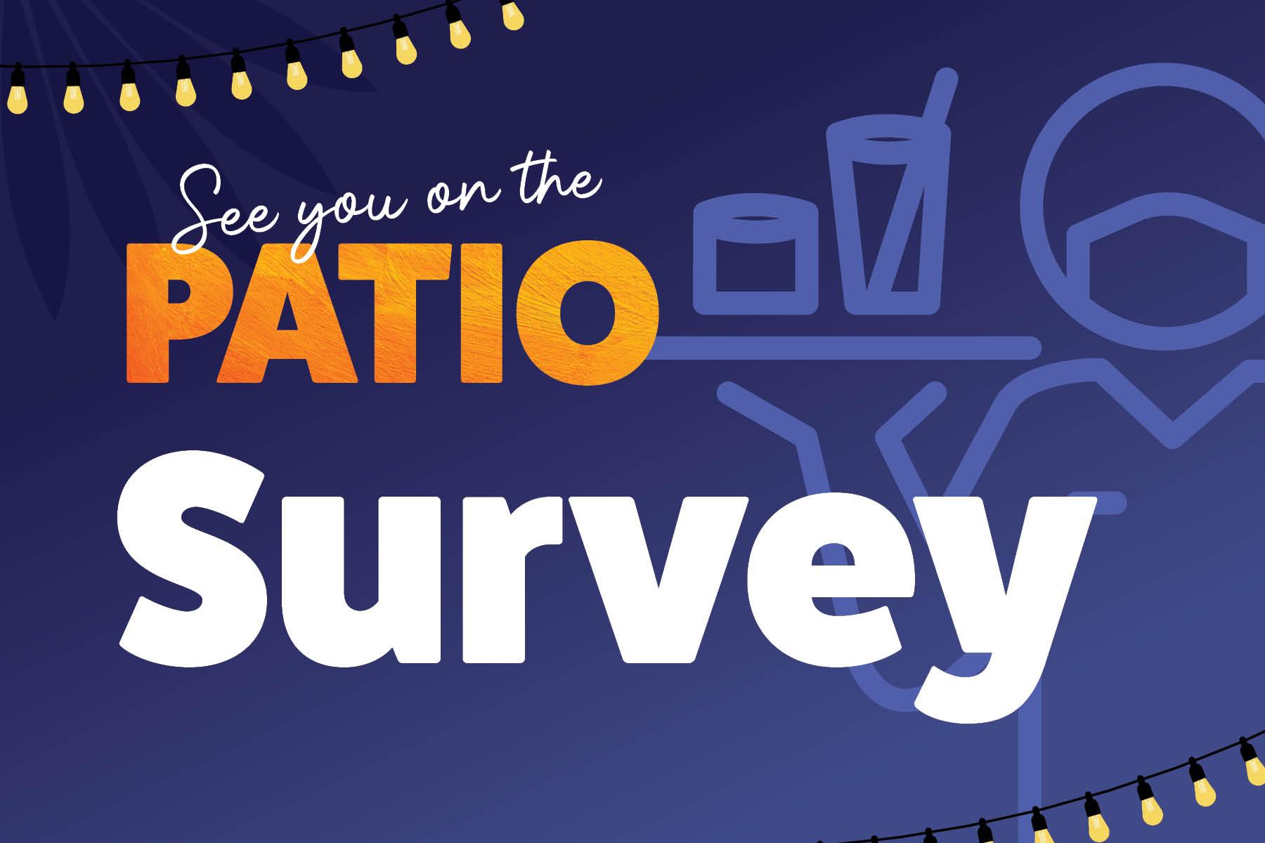 Patio Survey Post