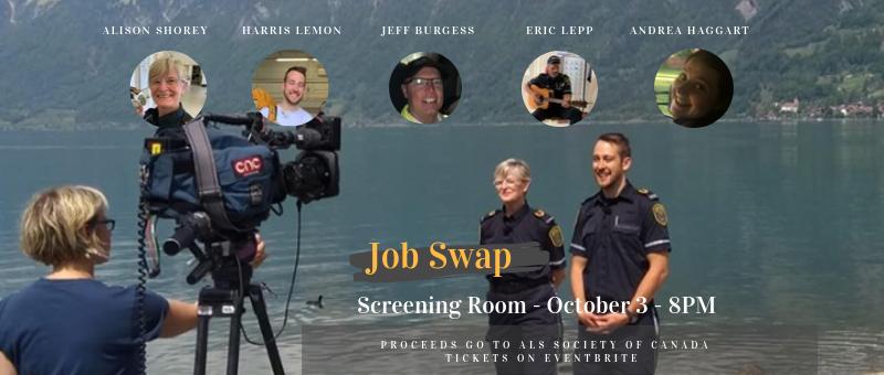 Job Swap at the Screening Room