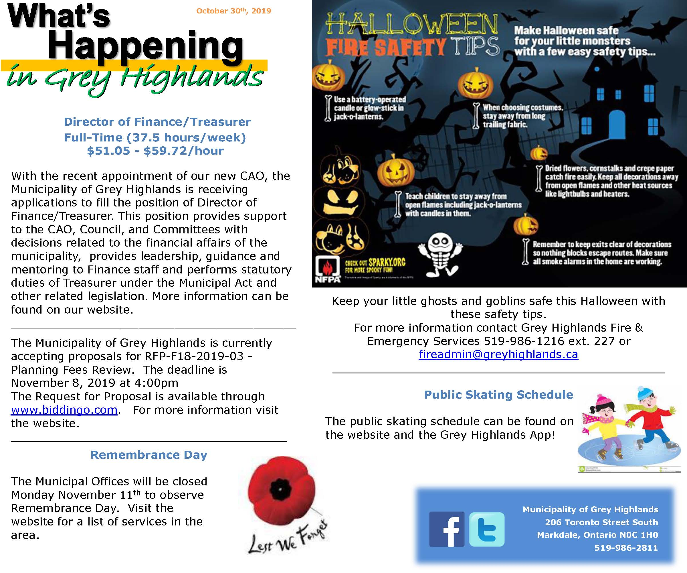What's Happening this week in Grey Highlands