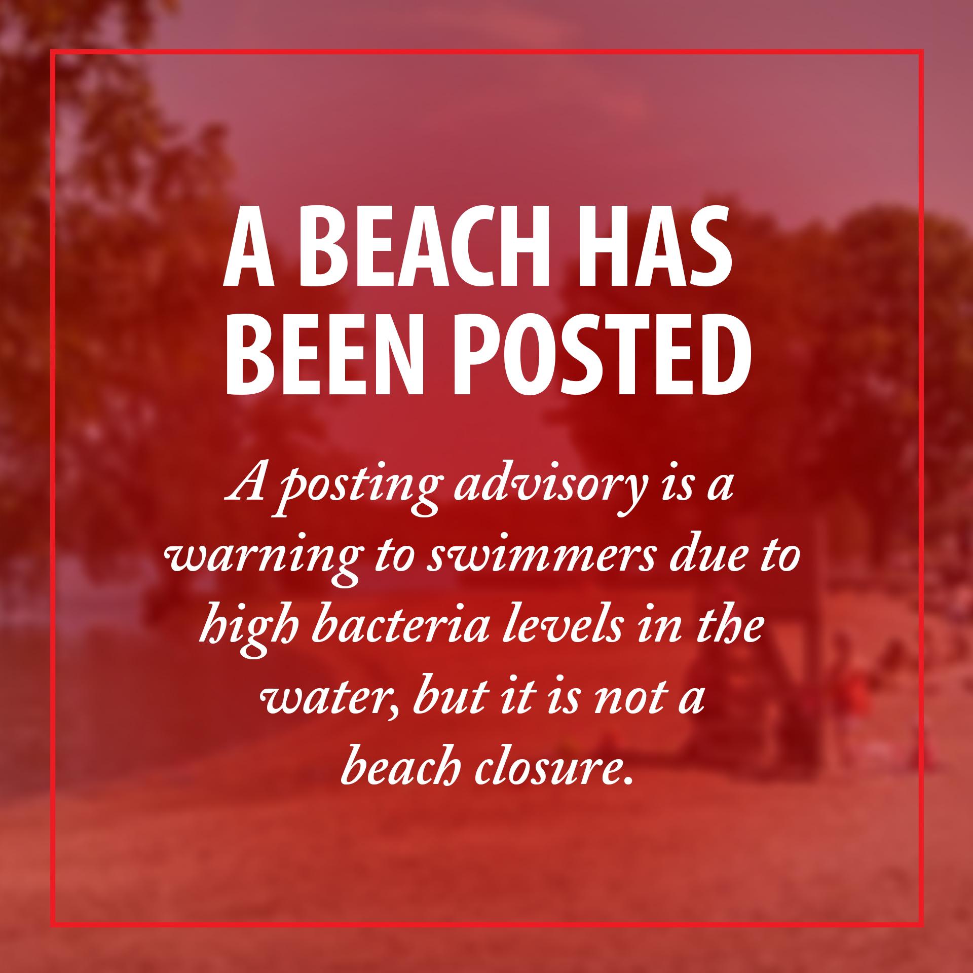 Beach Posting