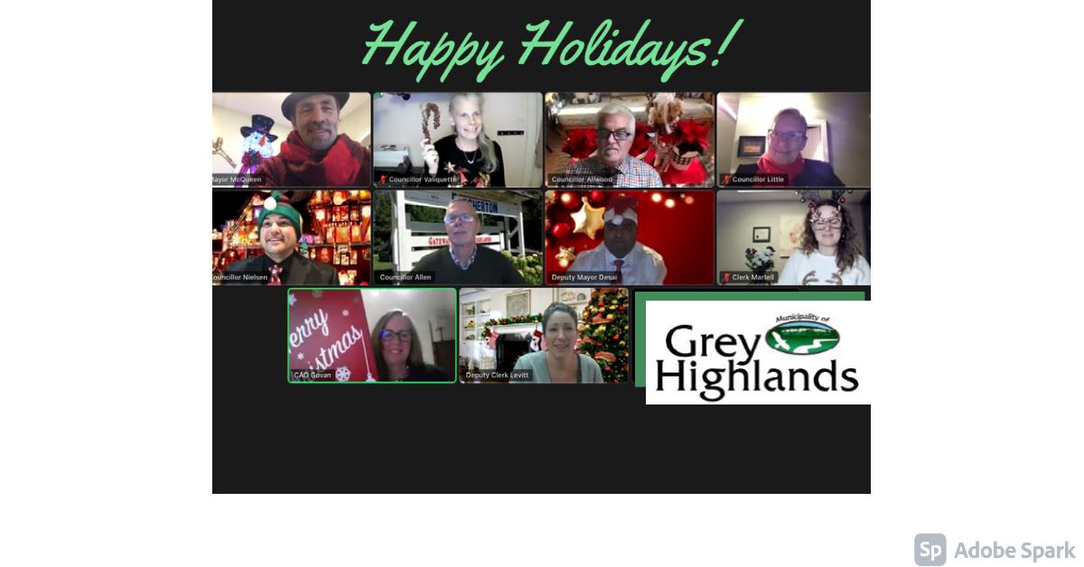 Council Happy Holidays