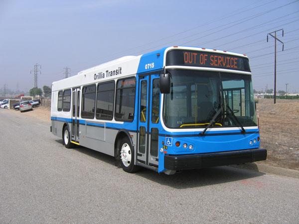 Orillia Transit Bus
