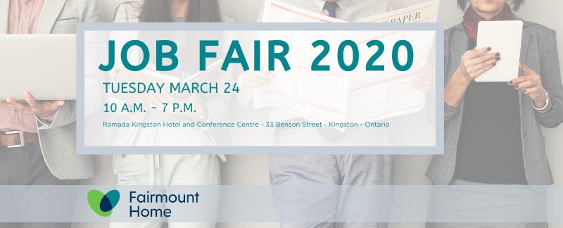 Fairmount Home Job Fair March 24