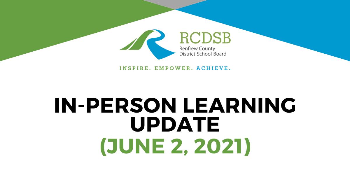 School Update June 2021