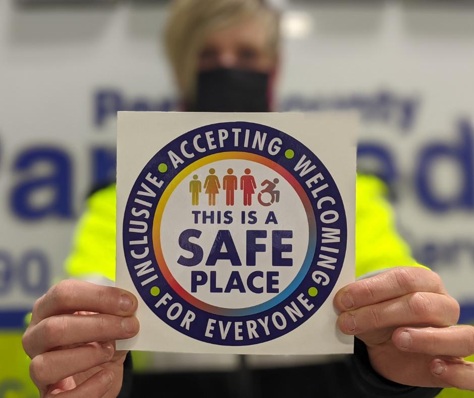 Safe Space Campaign Sticker