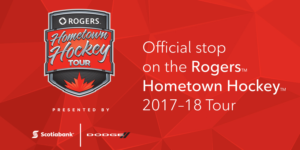 Official Stop on the Rogers Hometown Hockey Tour