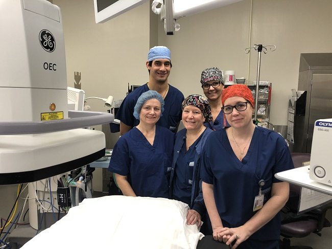 Community supports one of the safest cystoscopy suites in the region