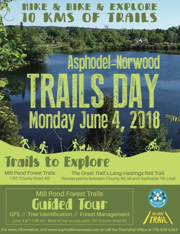 Trails Day Poster