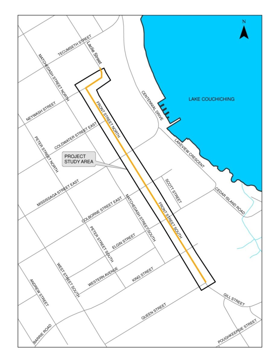 Front St Map