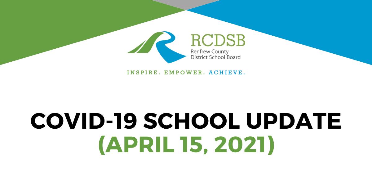 School Update April 15