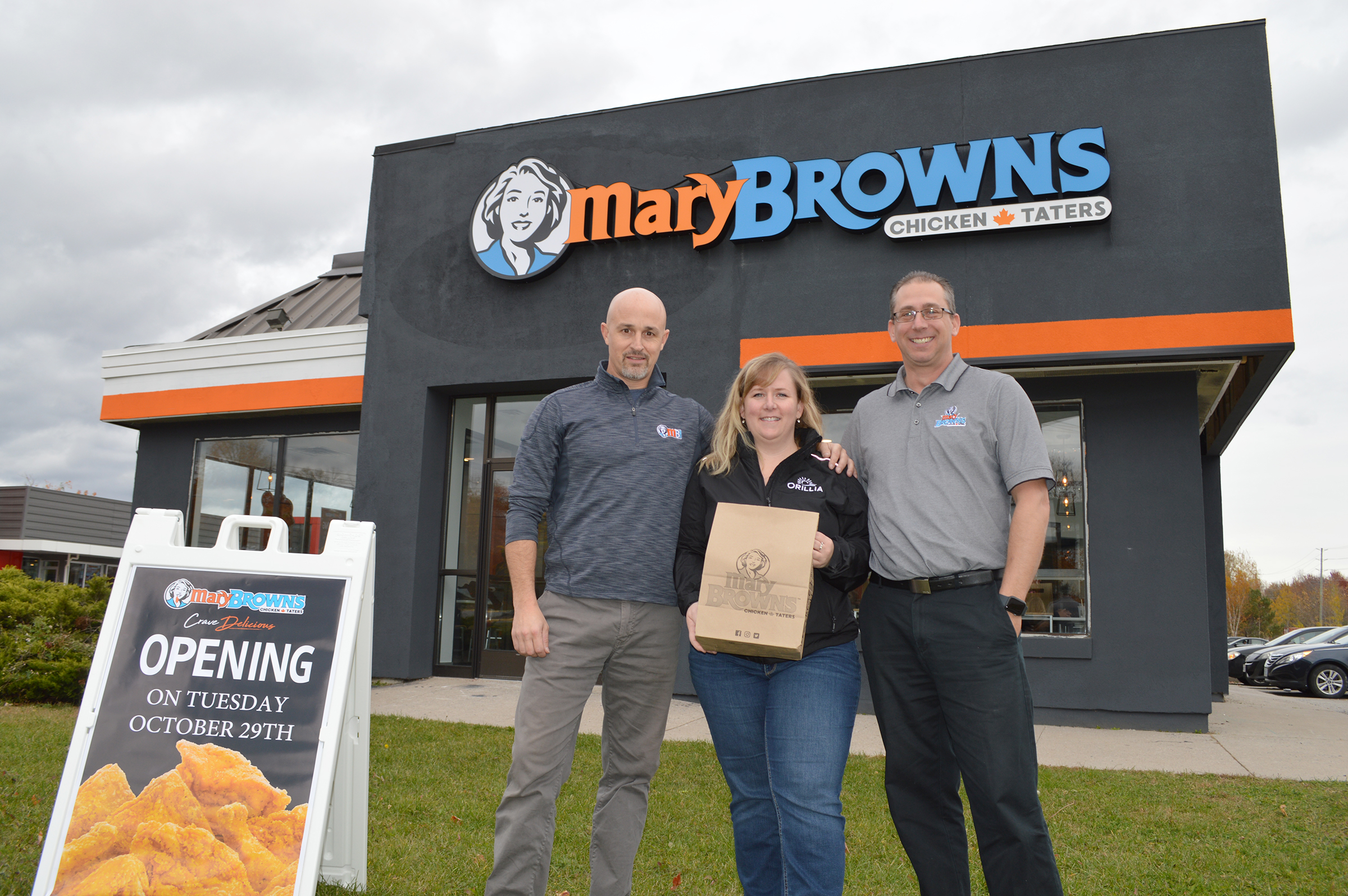 Mary Brown's in Orillia-release