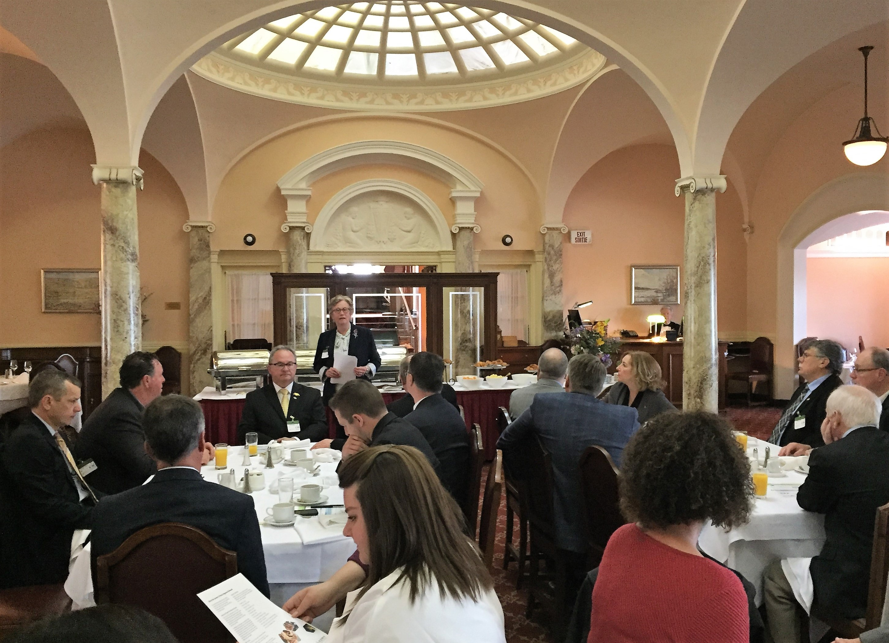 EOWC Breakfast with MPs in 2018