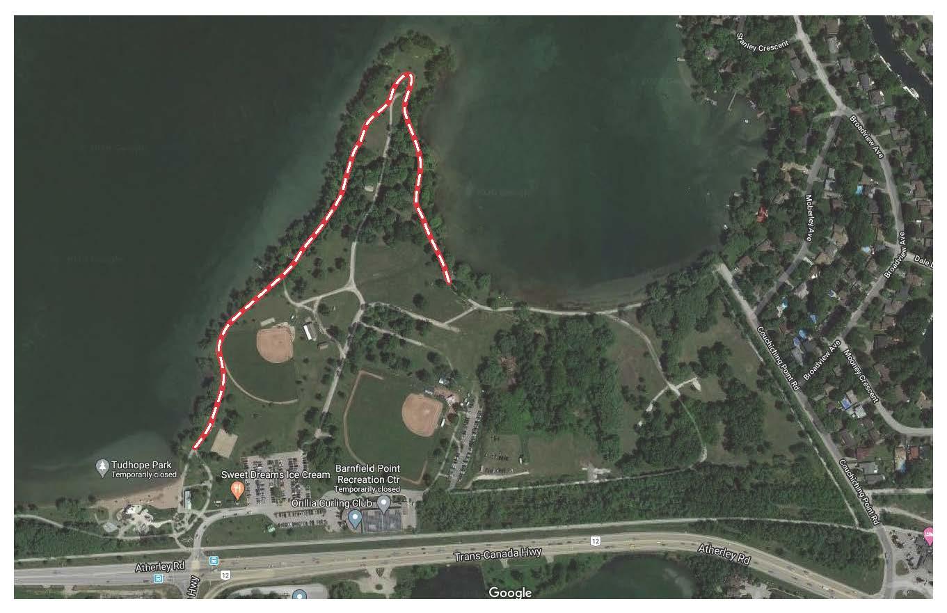 Tudhope trail map