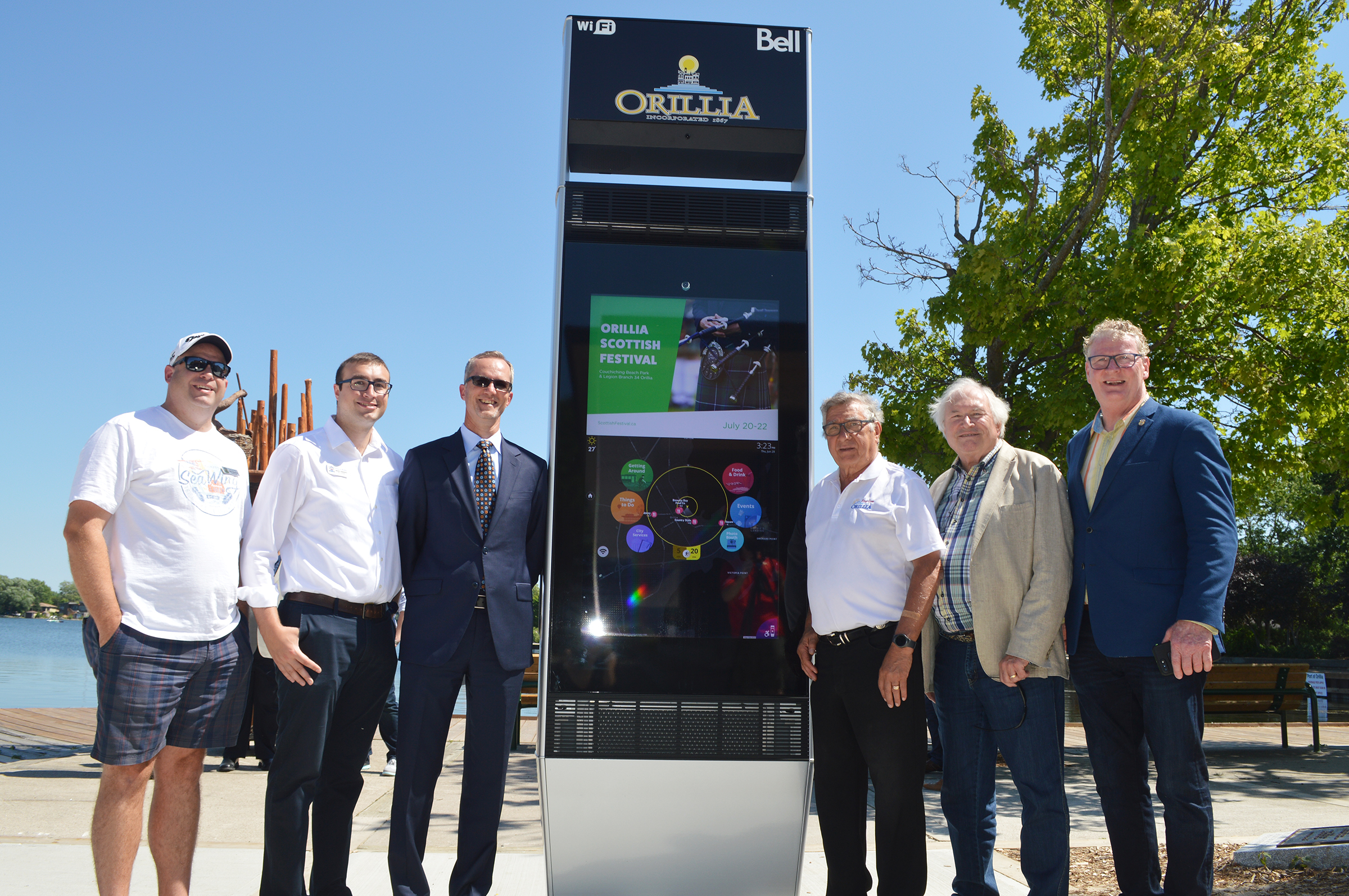 City of Orillia SMART kiosk