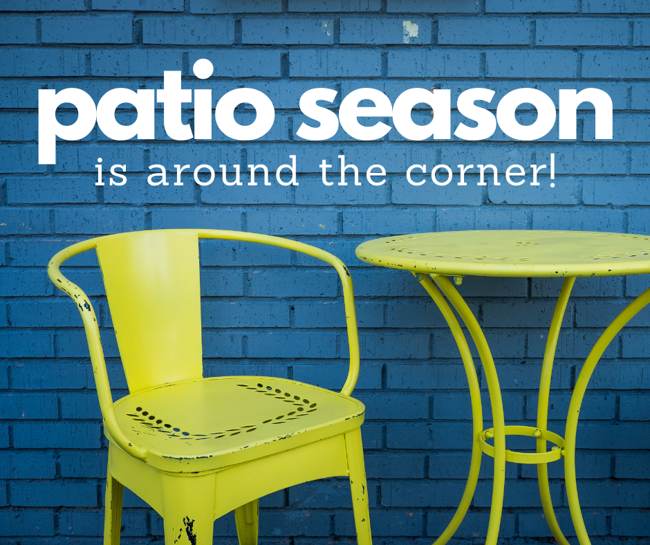 patio season