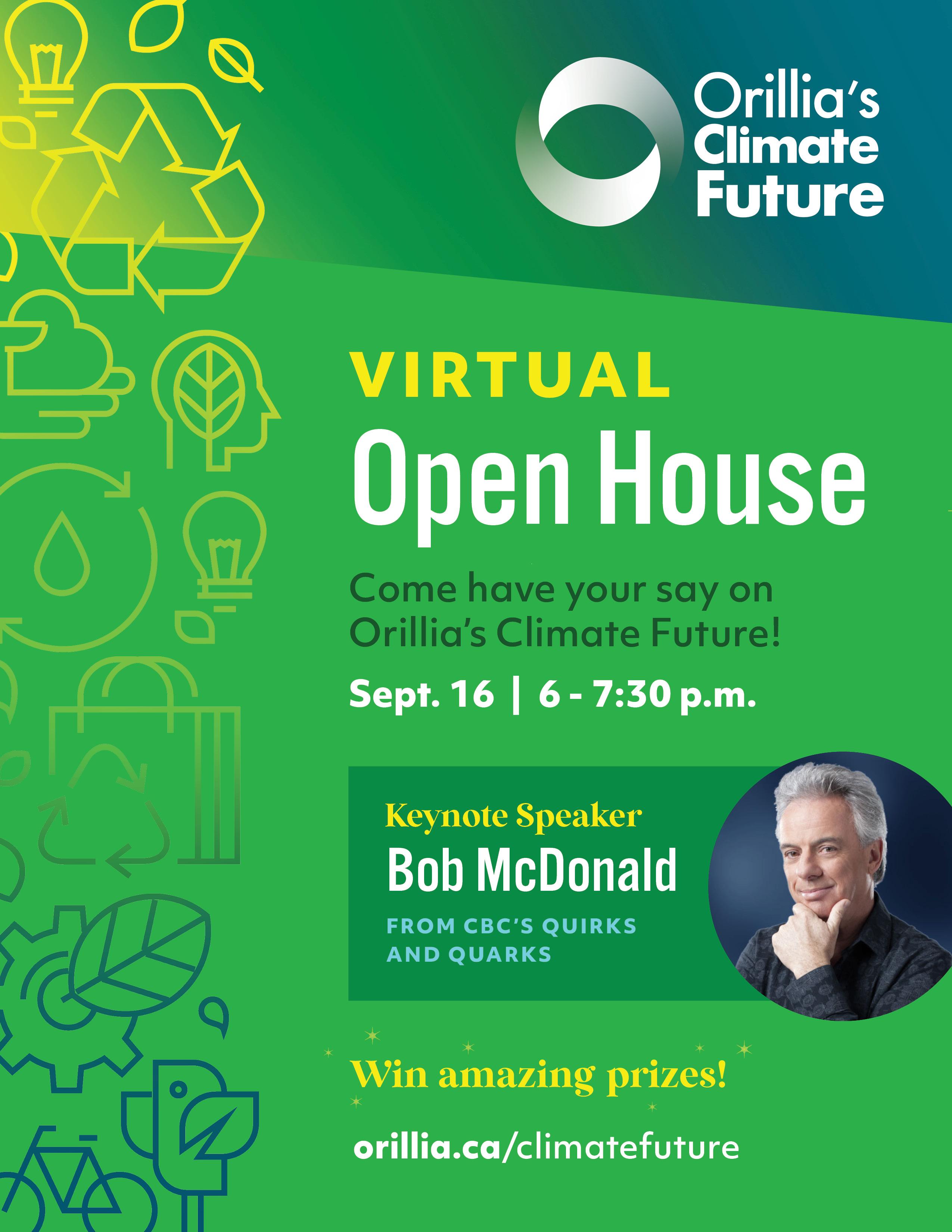 Orillias Climate Future - Guest Speaker Event