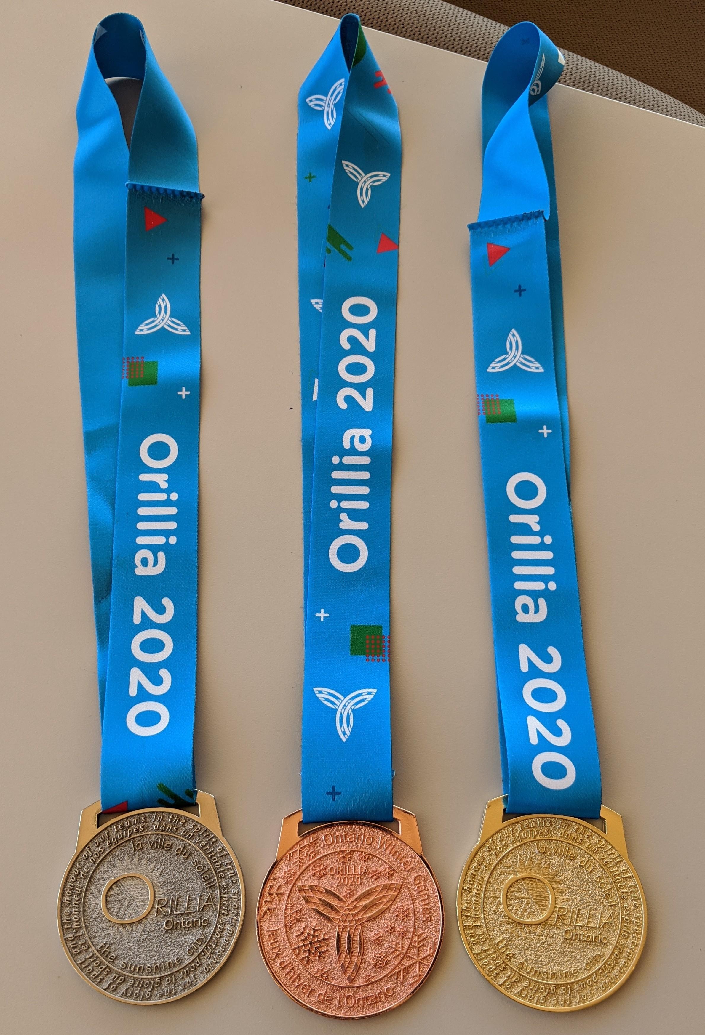 OWG 2020 medals