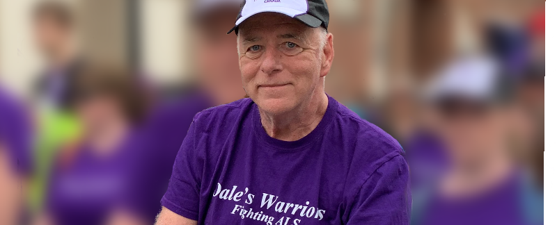 Dale Hodgins at Walk to End ALS in Kingston