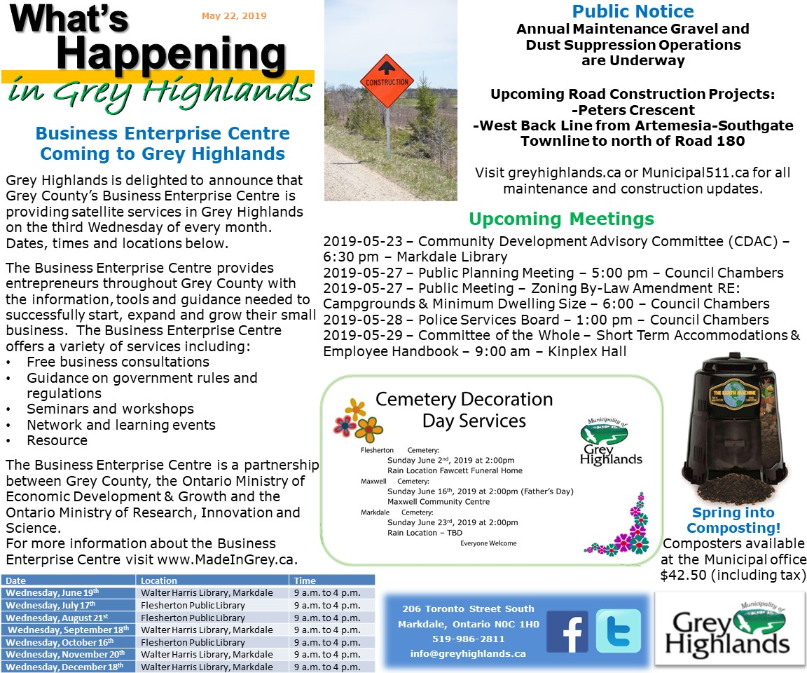 2019-05-22 MGH Whats Happening